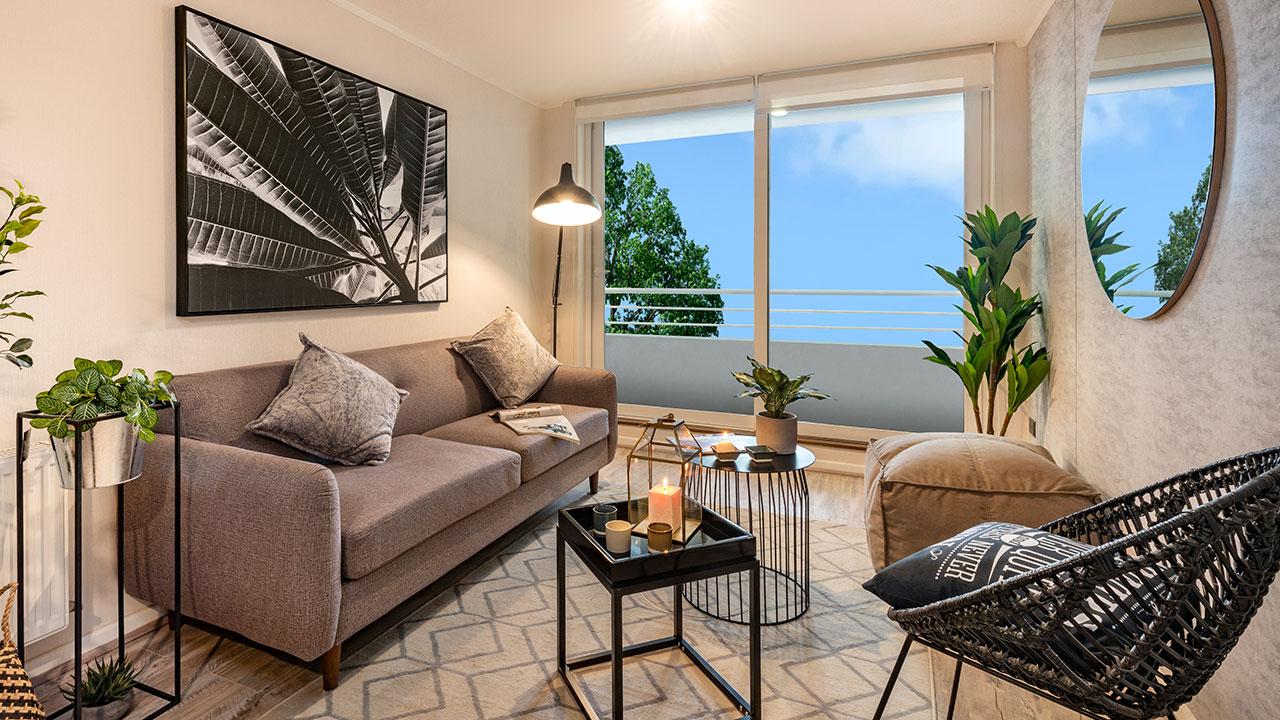Inmobiliaria iterra - Parque Pehuen - Pilotos Departamentos 2 y 3 dormitorios - Chiguayante